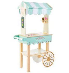 Le chariot à crèmes...