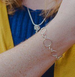 Bracelet à anneaux...